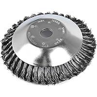 Wuudi Cepillo universal redondo para desbrozadora para eliminar