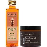 Kumkumadi Complete Skin Nourishment - Kumkumadi Oil and Lepam Skin Care