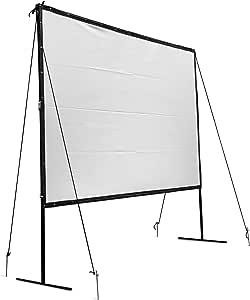 Vevor Pantalla de proyector portátil de 144 Pulgadas 16:9 HD para ...