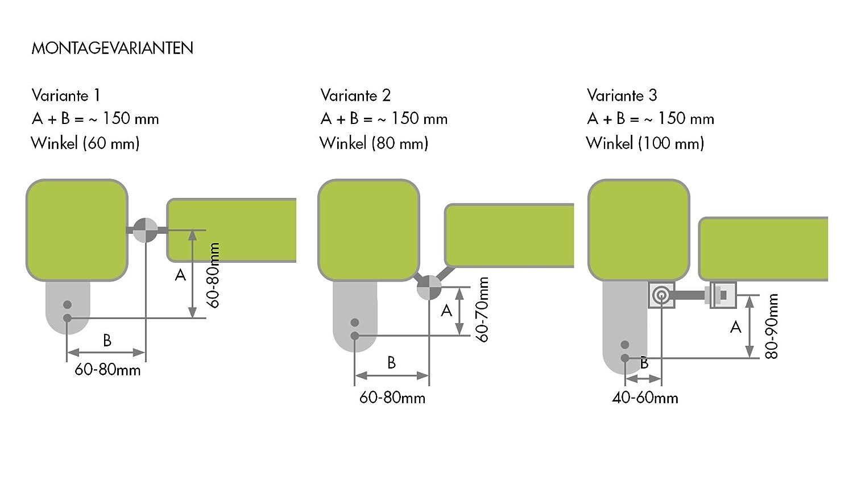 Gartentorschlie/ßer GTS 120//170
