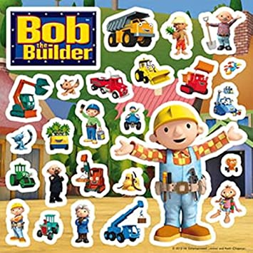 Bob The Builder Wall Stickers   Pack S1 Nice Look