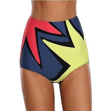 Amadoierly Traje de baño de triángulo Mini Bikini Polígono ...