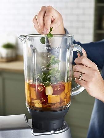 Kenwood Cooking Chef Gourmet KCC9061S - Robot de cocina con función de cocción y accesorios: Amazon.es: Hogar