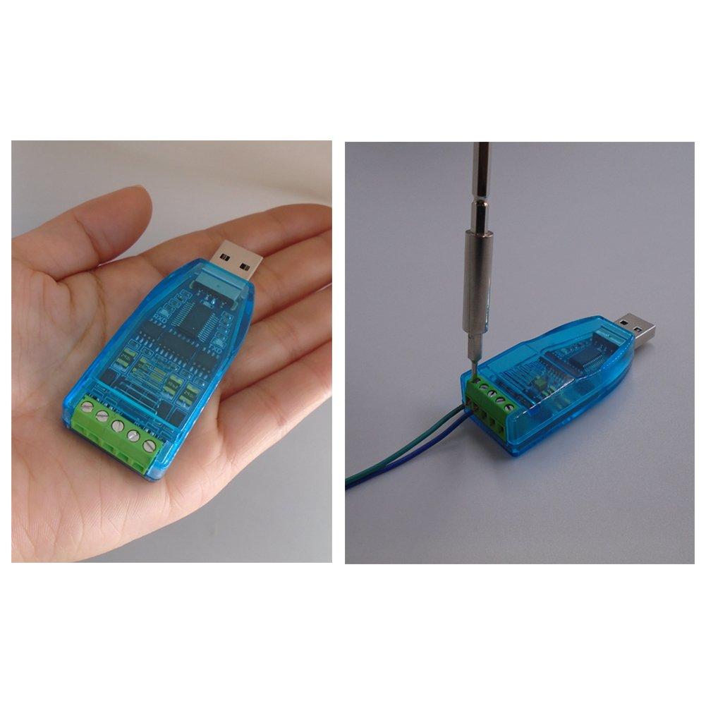 7 USB Zu RS485 RS422 Konverter Mit FTDI FT232 Chip Kompatibel Mit Windows 10 8
