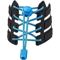 YUEMING 1 Paar Lock Veters,Elastische Veters,Sport Hardloopveters,Schoenveters,Lock Laces,Volwassenen en kinderen…