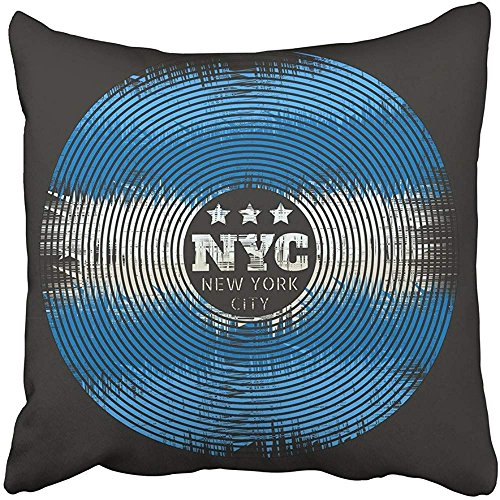 """Throw Pillow Cover 18""""X18"""" Decorative Polyester Black On The"""