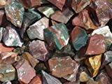 Fundamental Rockhound Products: Rough FANCY JASPER Natural Bulk Rock for Tumbling, Metaphysical Use, Gemstones Healing Crystals * Wholesale Lot * ... from India (1/2 lb)