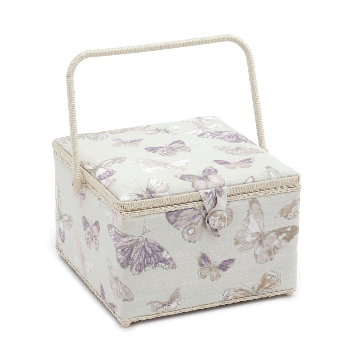 Hobby Gift 'Briarfield Hydrangea' Large Square Sewing Box 30.5 x 30.5 x 22cm (d/w/h) HGX\355