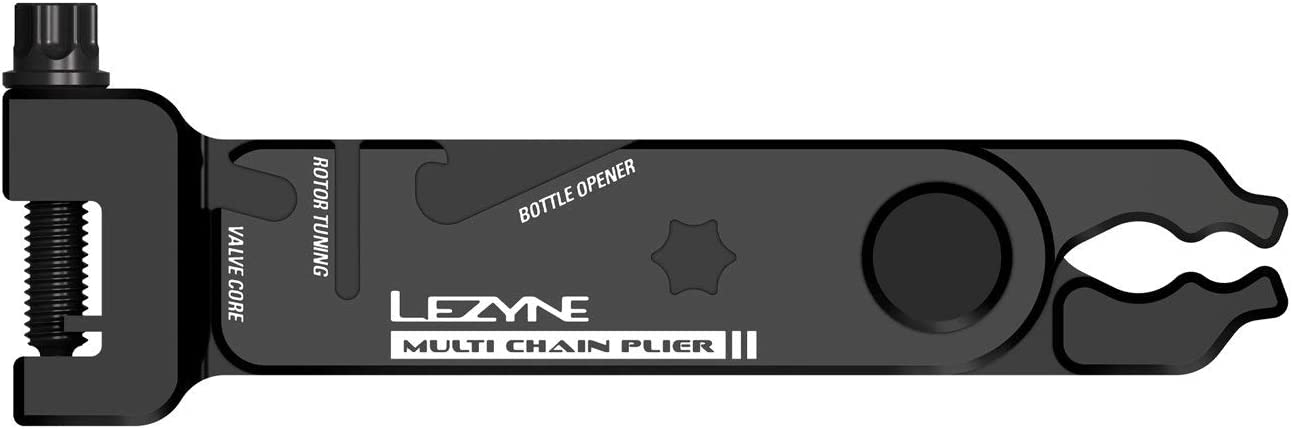 Chain Link Removal Integrated with Chain Breaker Tool LEZYNE Multi-Chain Bicycle Pliers All-in-One Bike Chain Tool Valve Core Wrench Link Storage