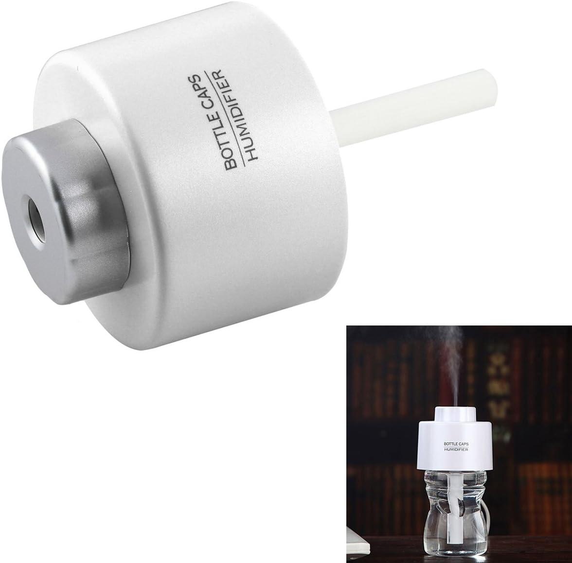 USB Charge humidificateur dair Maison Bebe Mini humidificateur portatif bume fra/îche ar/ôme Parfum /électrique pour Chambre//Salon//Spa//Yoga//Massage cerf Forme de Lapin