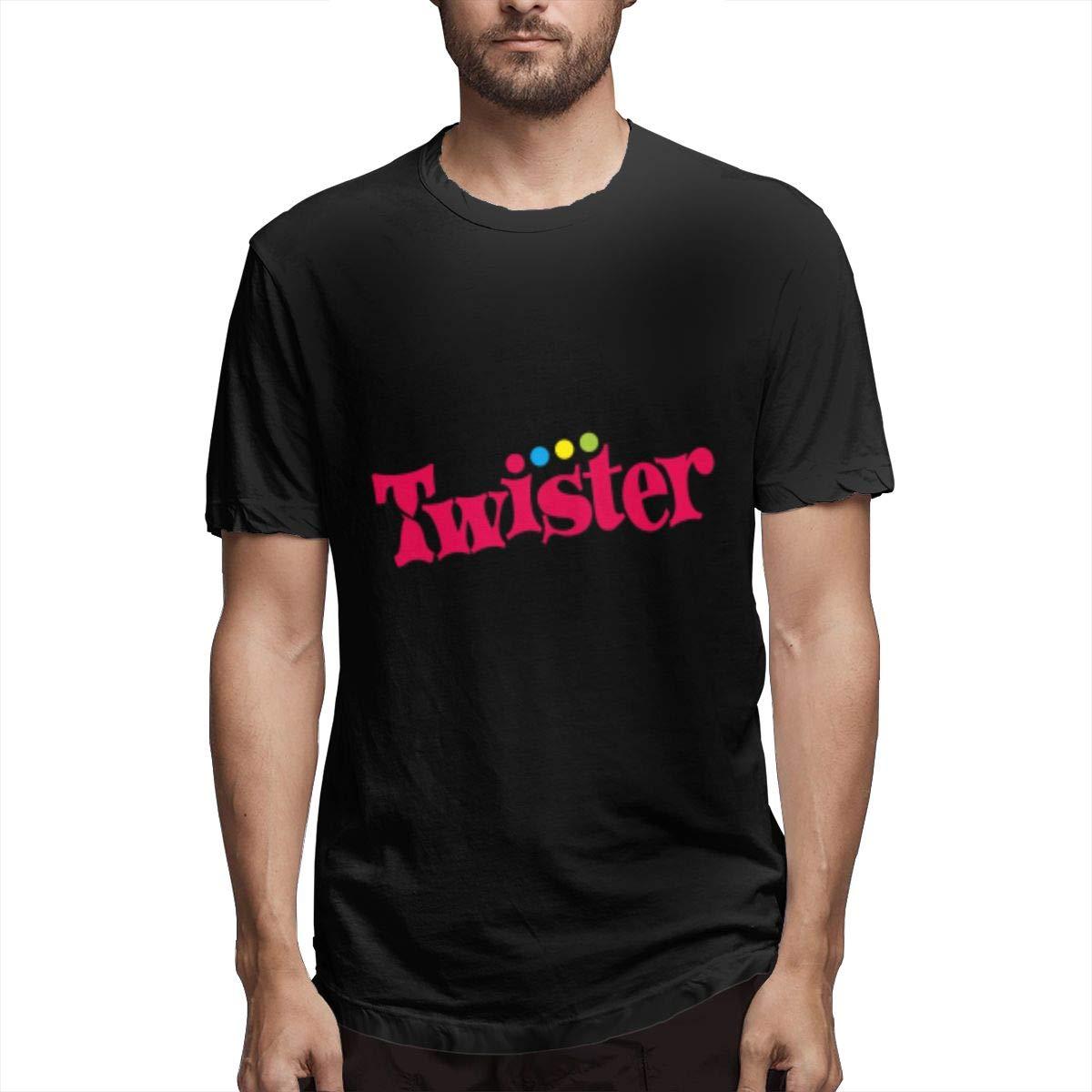 Lihehen Twister Logo Fashion Leisure Round Neck Shirts