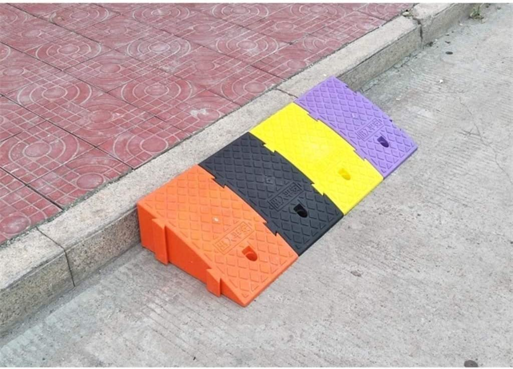 11 way bike CSQ-Ramps 16CM//19CM Plastic Triangle Pad Color : Purple, Size : 402516CM Sturdy Non-Slip Step Pad Garage Parking Lot Uphill Pad Bicycle Caravan Kerb Ramps Kerb Ramps