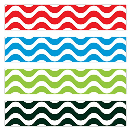 Trend Enterprises Wavy Terrific Trimmer & Bolder Border Variety Pack (T-85902)