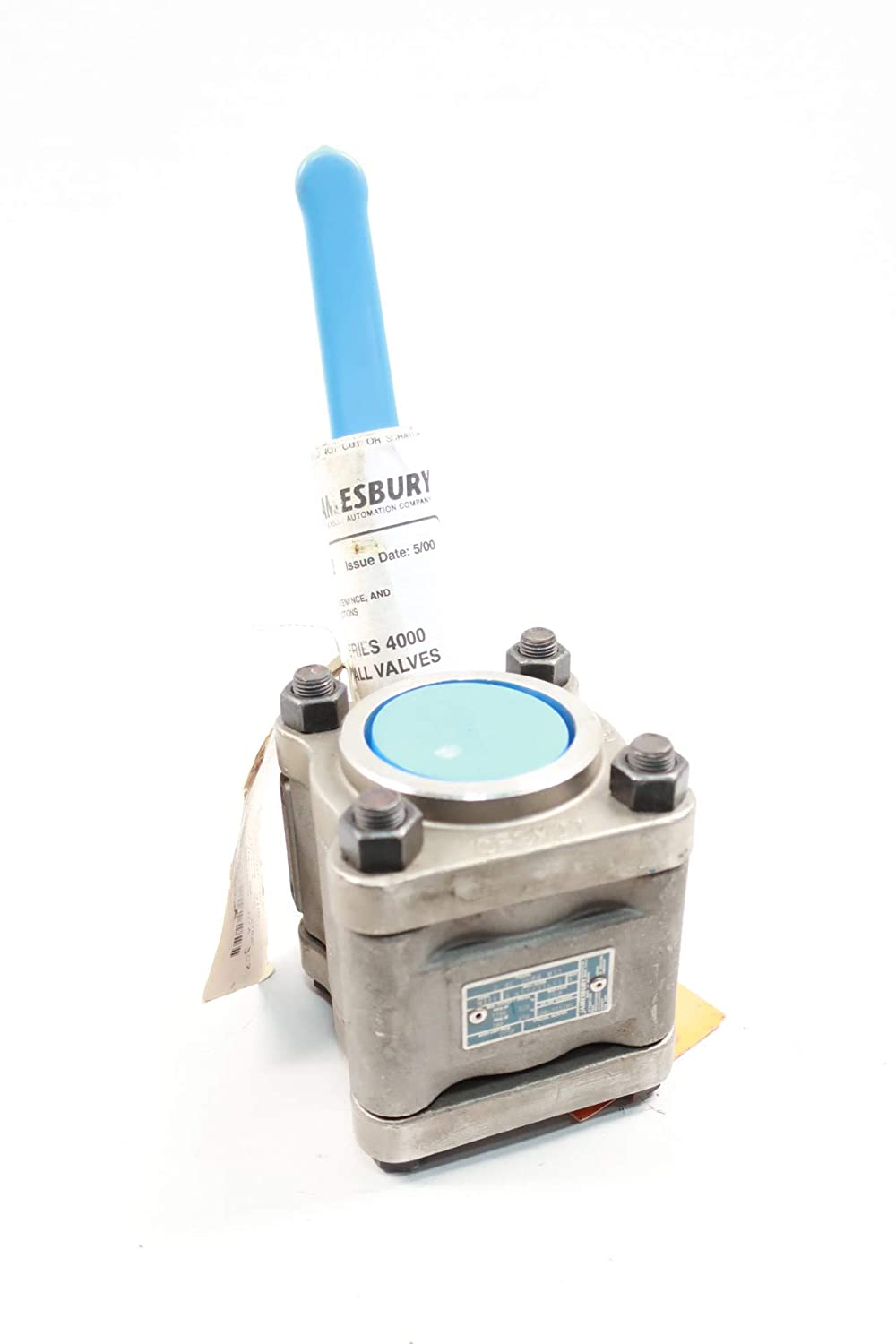 JAMESBURY 2 4C 3600 MT1 Manual Stainless Socket Weld Ball Valve 2IN