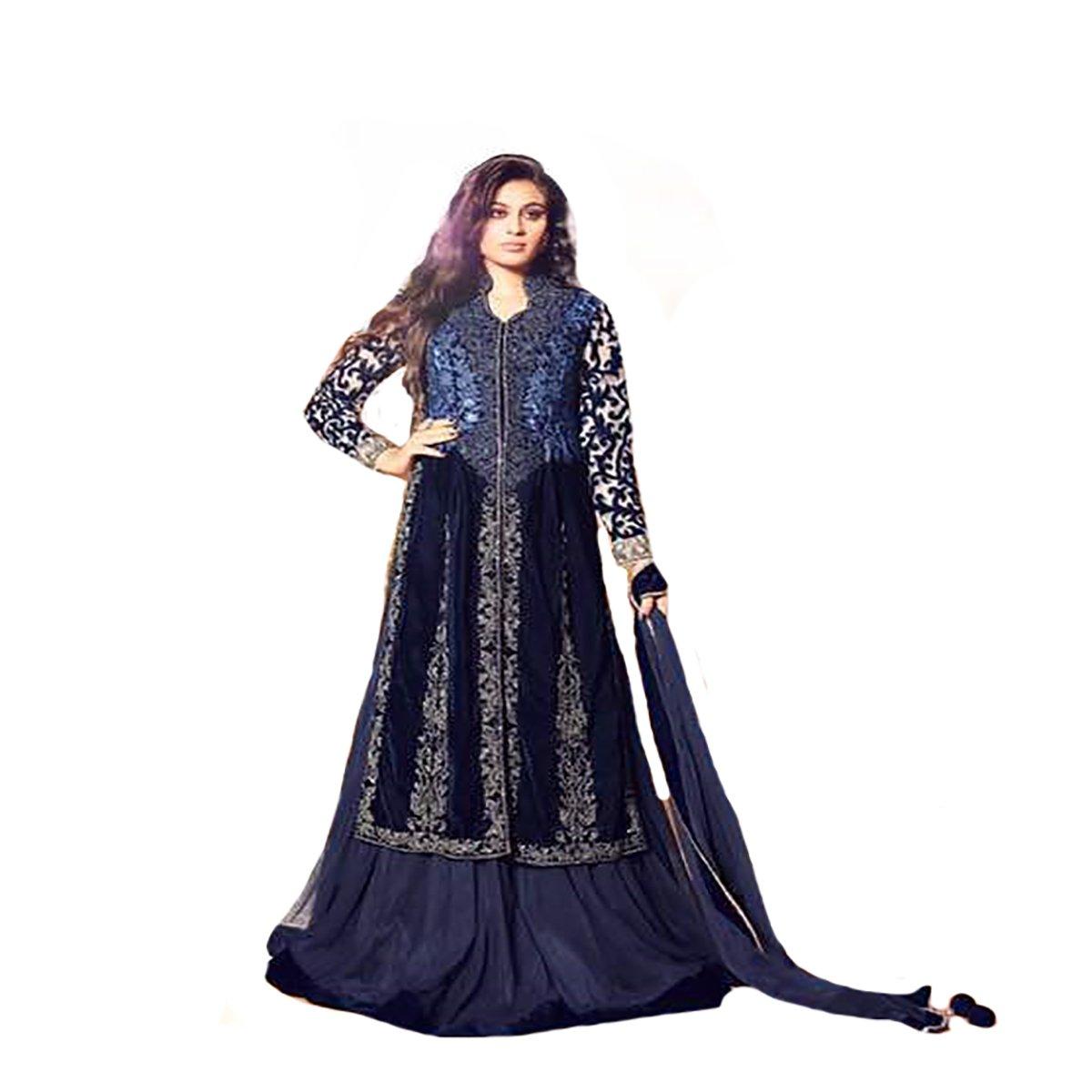 Bollywood 100% Original Ethnic Gown Anarkali Salwar Kameez suit Ceremony Muslim 8806