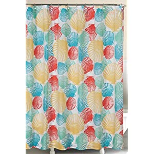 61rx7GdL5SL._SS300_ Beach Shower Curtains & Nautical Shower Curtains