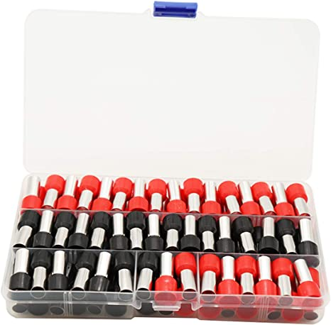 Clean Install Black+Red Communication Equipment. 70PCS 4 Gauge Ferrule Connectors End Terminal Insulated Ferrule .Work Great for 4 Gauge Car amp Widely Used in Electronics