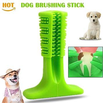 Perro Dientes Pincel para cepillar Puppy Molar Stick Mascota Perrito Cuidado de limpieza oral No tóxico