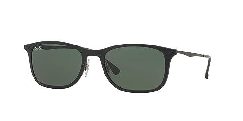 Ray-Ban RB4225 - 601S71 Sunglasses Black w/ Green Classic Lens 52mm