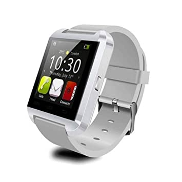 AQURETM U8 Plus Bluetooth 4,0 Smartwatch para IOS Apple ...