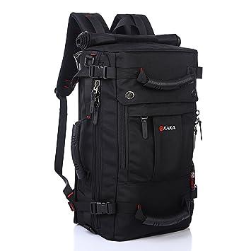 9c0be480c35b KAKA Hiking Backpack 40L Large Waterproof Travel Hiking Camping Outdoor  Rucksack Daypack for Men and Women