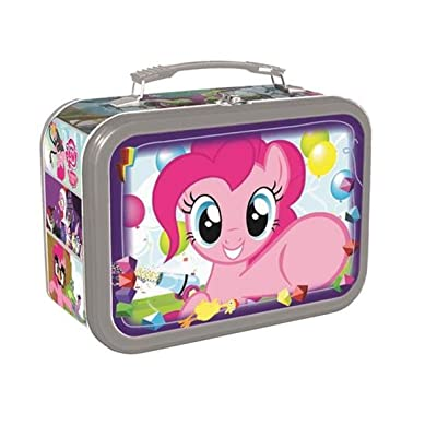 My Little Pony Lunch Box -- Deluxe Pinkie Pie Tin Lunchbox (My Little Pony School Supplies): Kitchen & Dining