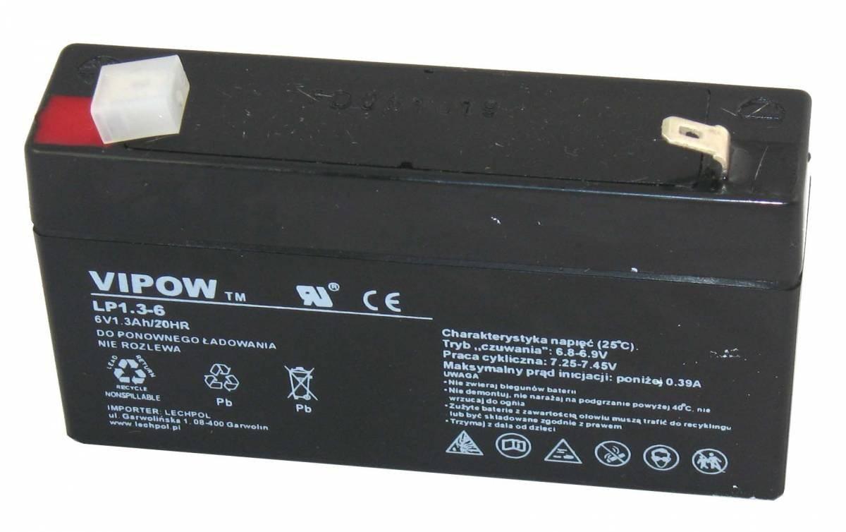 VIPOW batterie de gel 12V 20Ah