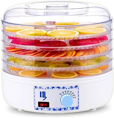 Opinión sobre L.TSA Deshidratador de Alimentos Secadora de Frutas, 5 Capas Bandeja Regulación de Temperatura Máquina de Alimentos Secos para el Secado de Alimentos, Frutas, 241 w