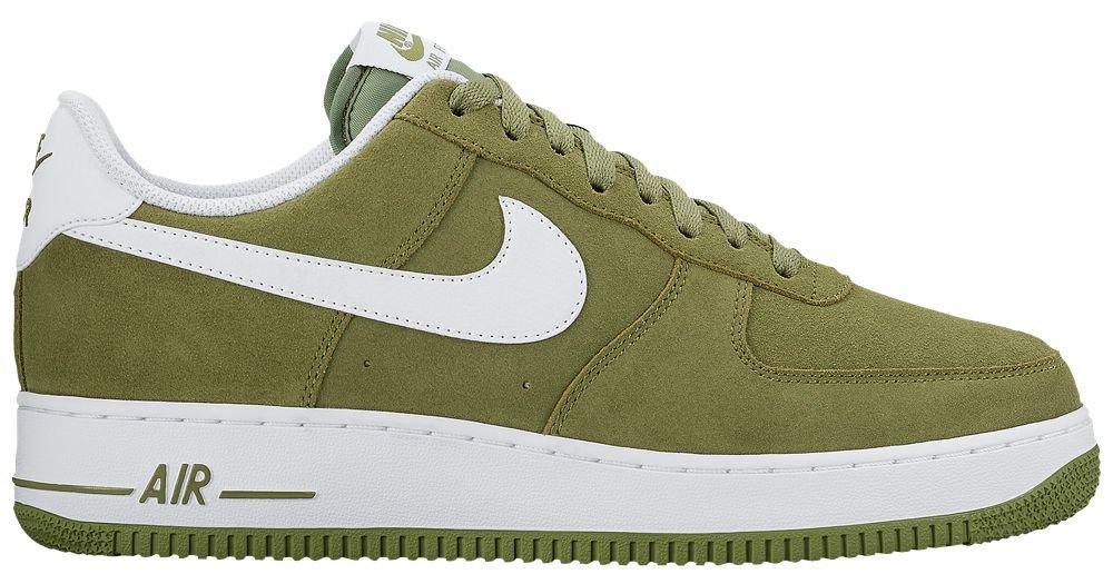 [ナイキ] Nike Air Force 1 Low - メンズ バスケット [並行輸入品] B072PTFXH5 US09.5 Palm Green/White