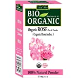 Indus Valley 100% Organic Rose Petals Powder, 100 gm