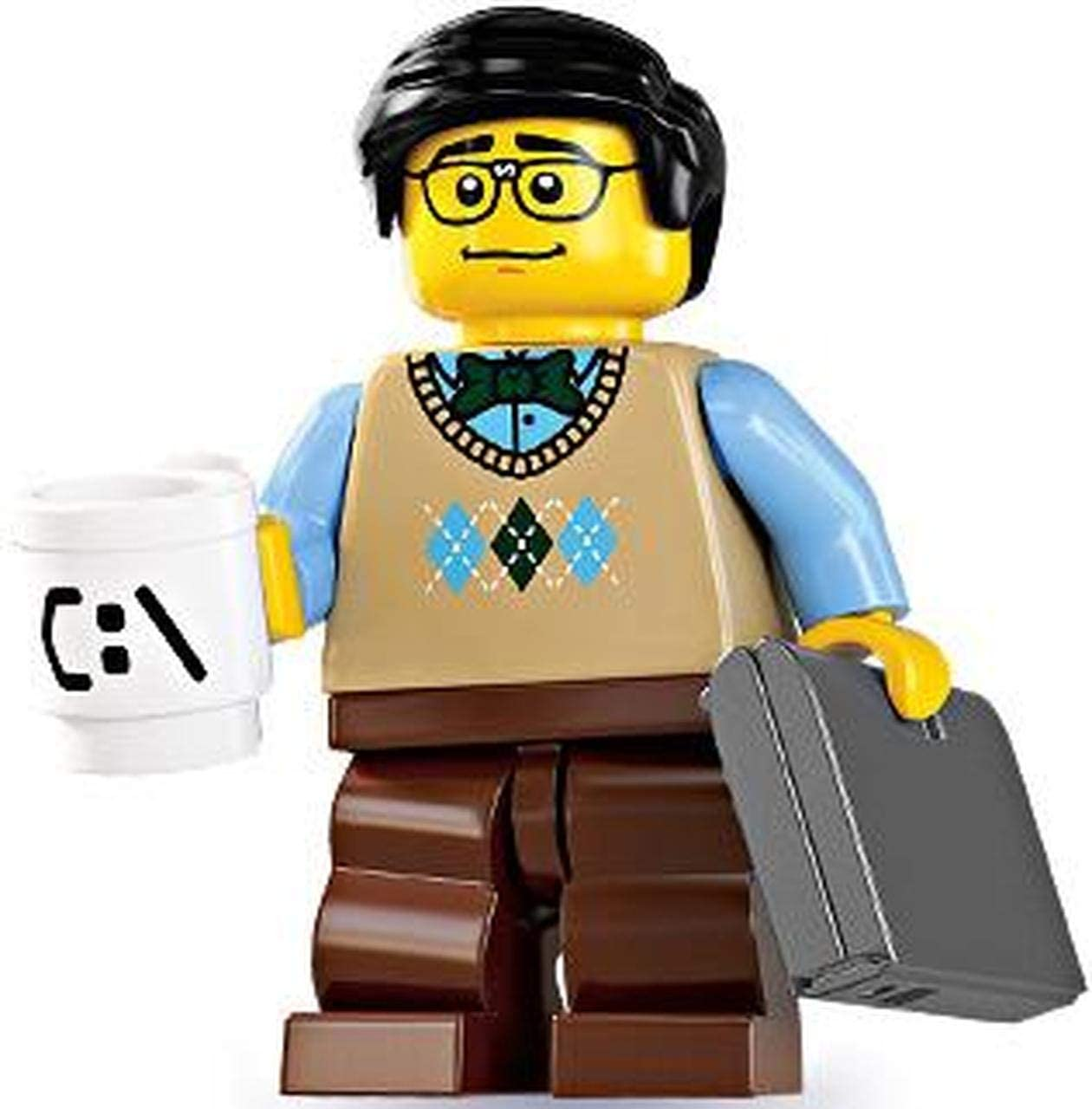 Lego Series 7 Computer Programmer Mini Figure