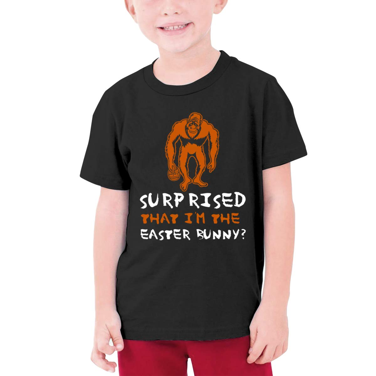 Surp Rised That Lm The Easter Bunny Short Sleeve T Shirts 1445