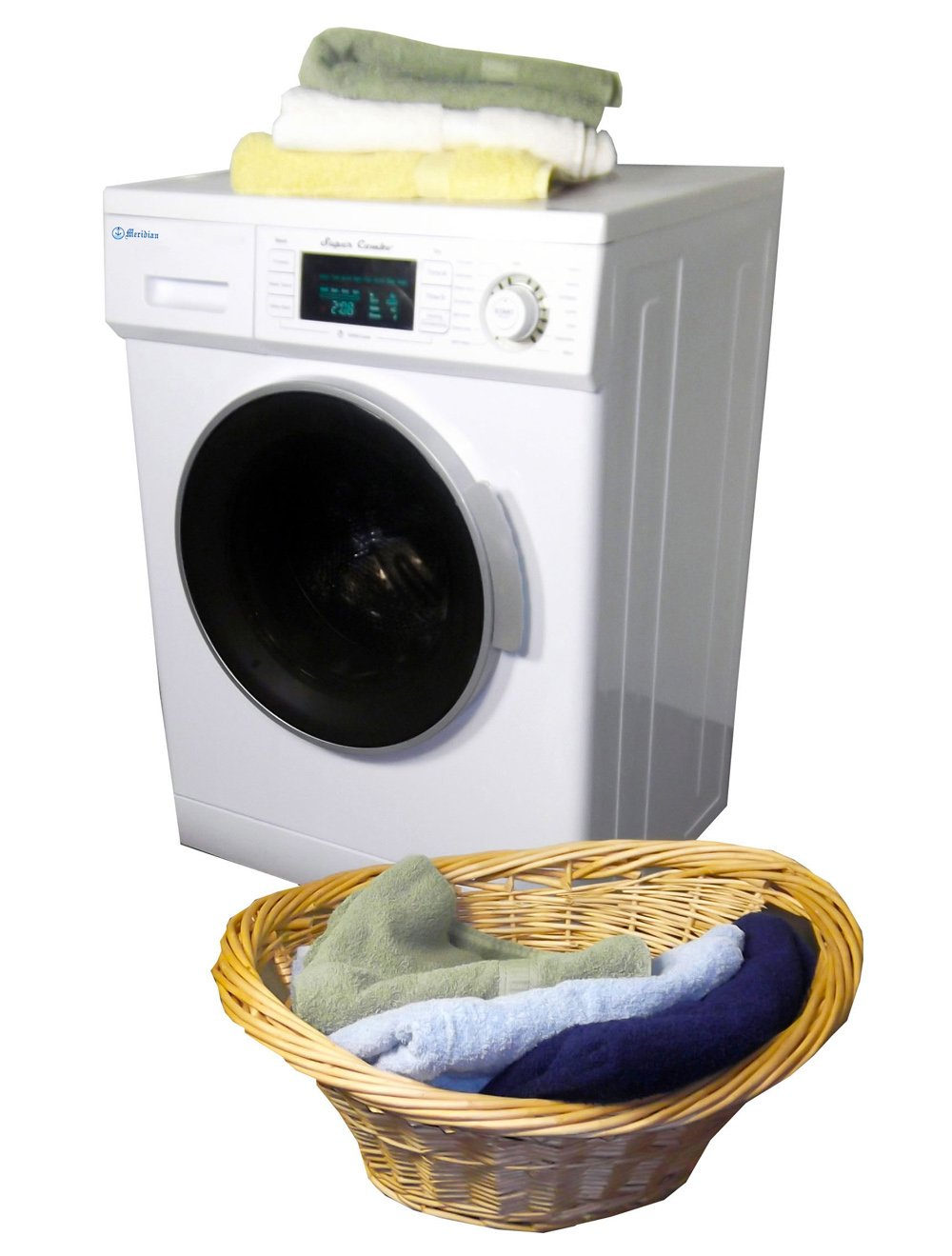 Amazon.com: Meridian Convertible Venting Ventless Combo Washer ...