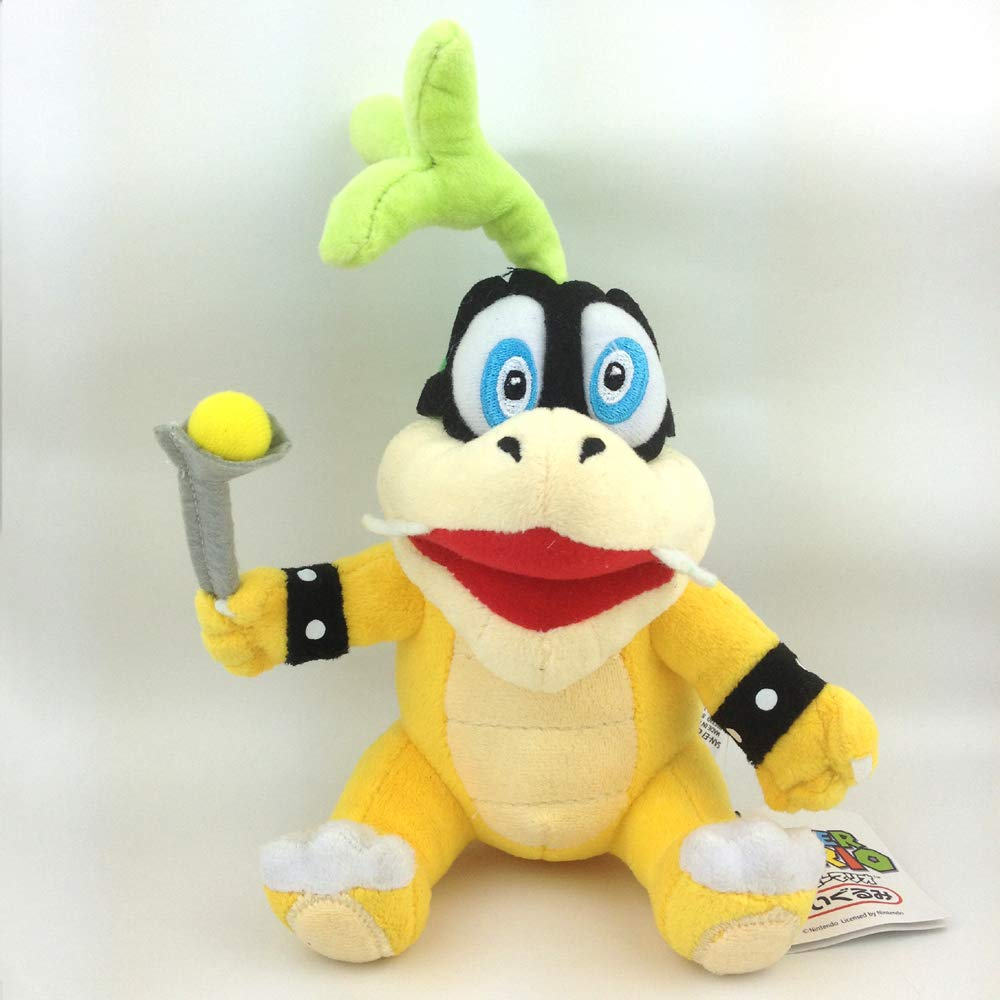 Morton Larry Iggy Peluche Animal Suave Yijinbo 8X Super Mario Bros Koopalings Peluche Rey Bowser Lemmy Larry Roy Wendy O