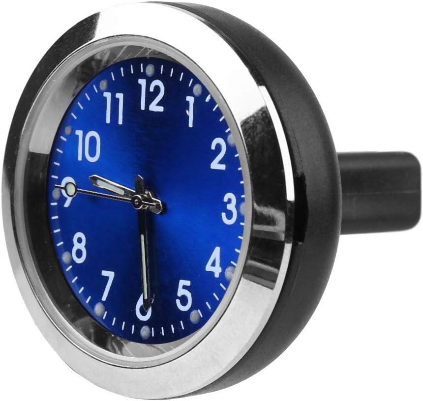 Duokon Auto Innenraum Aromatherapie Uhr Luftauslassclip Messinstrument elektronische Uhr Duftstoff Nachf/üllung Blau
