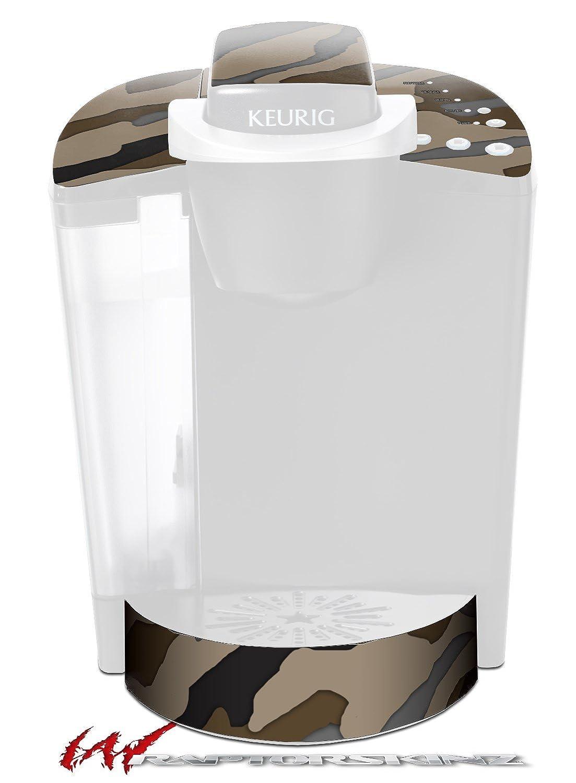 迷彩ブラウン – デカールスタイルビニールスキンFits Keurig k40 Eliteコーヒーメーカー( Keurig Not Included )   B017AKFGWE