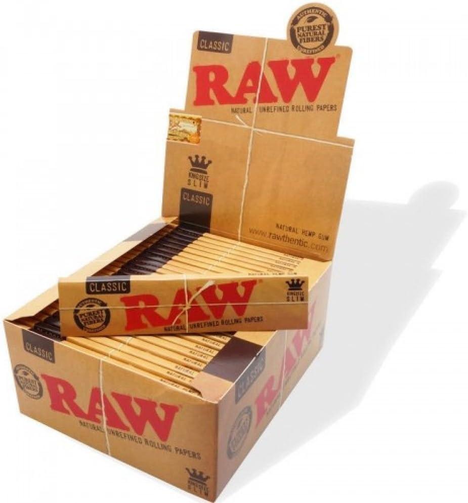 Raw Papel de Fumar - 50 Librito