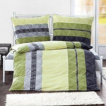 Bierbaum Winter Jersey Bettwäsche Sets 135 X 200 Cm Limone Amazon