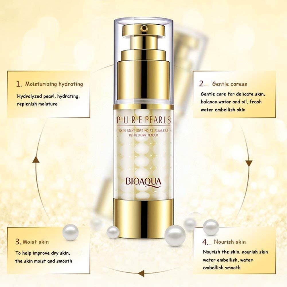 Crema hidratante para el día de la cara, antiarrugas, color crema: Amazon.es: Belleza