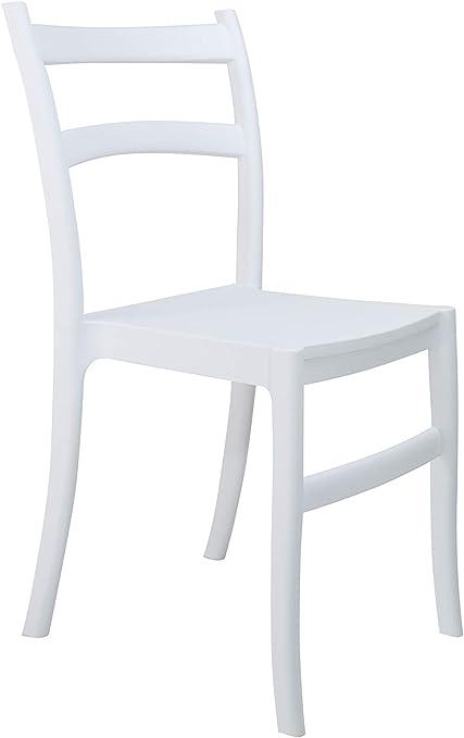 Sedie Per Ristorante Da Esterno.Set 4 Sedie In Polipropilene Da Pranzo Per Interni Ed Esterni