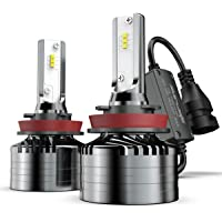 2-Pack Marsauto H11/H8/H9 Led Headlight Bulbs Conversion Kit