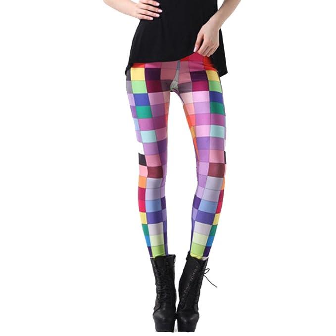 8bea76d02118 Leggings Stampati Scozzesi Di Design Da Donna Pantaloni Da Yoga Leggings Da  Allenamento Attivi Pantalone Stretch Pantaloni Sportivi Da  Corsa,PhotoColor-4XL: ...