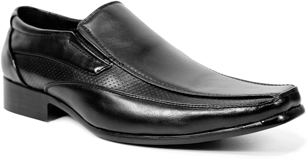 Mens Formal Shoes Faux Leather Smart