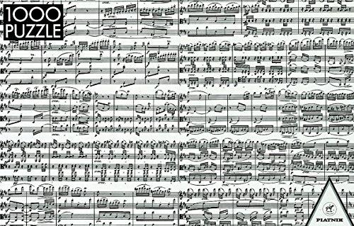 Piatnik Musical Notes 1000 piece puzzle ()