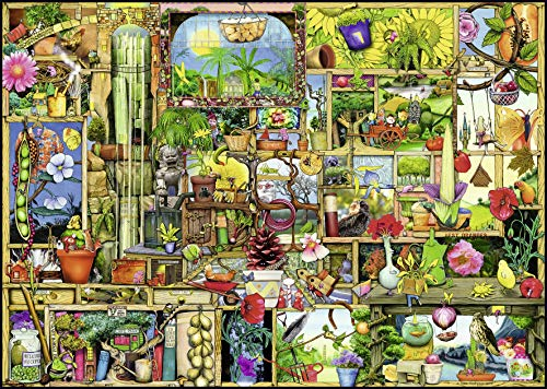 Ravensburger The Gardeners Cupboard 1000 Piece Jigsaw Puzzle Adults