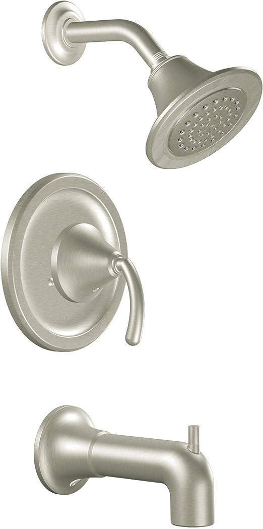 MOEN T3112BN Kingsley Shower Faucet with Moentrol Trim Kit in Brushed Nickel
