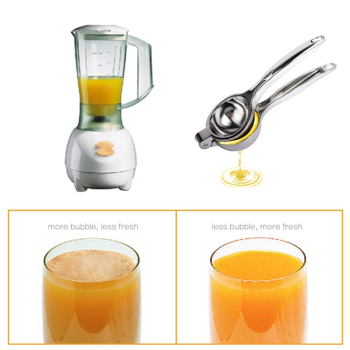 Dishwasher Safe IORIGIN Lemon Lime Squeezer Manual Citrus Press ...
