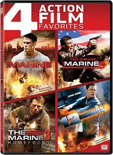 Marine, The / The Marine 2 / The Marine 3 / 12 Rounds Quad Feature