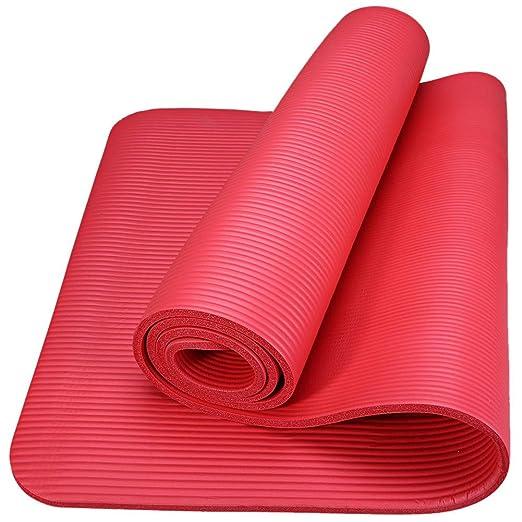 CHY-MAT Esterilla De Yoga Antideslizante Plegable Gimnasia ...