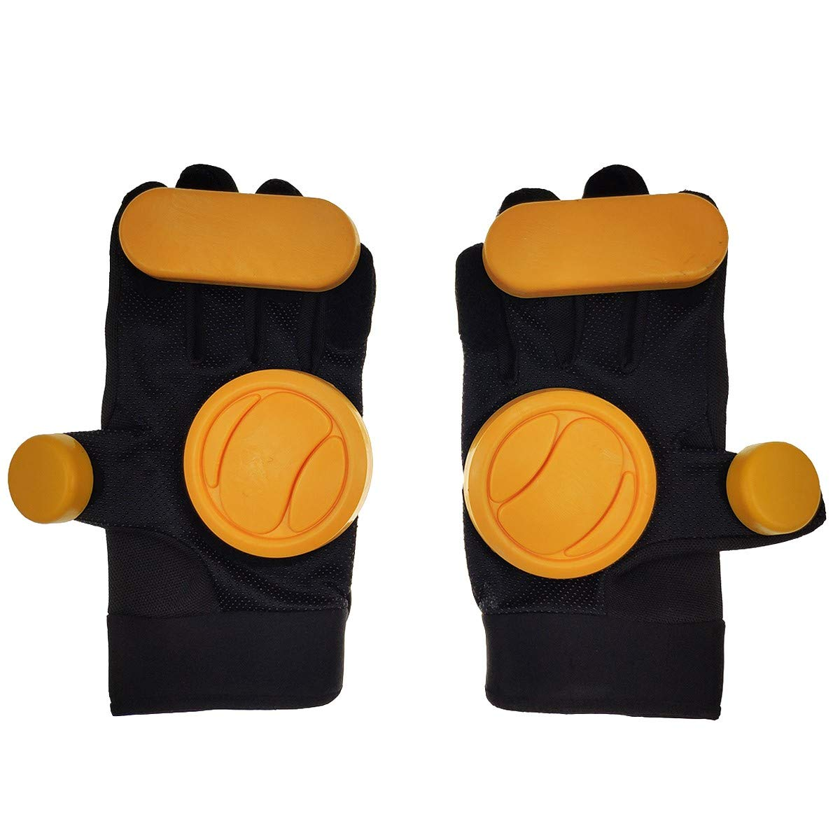 Silfrae Longboard Slider Skating Gloves Longboard Gloves with Protect-Pucks
